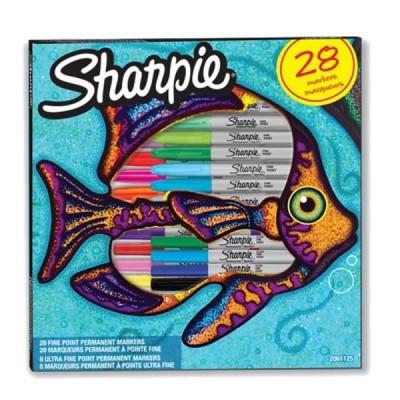 Sharpie limitált kiadású alkoholos marker 28db-os készlet