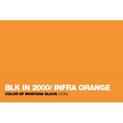 Montana Black Infra Graffiti Spray 400ml