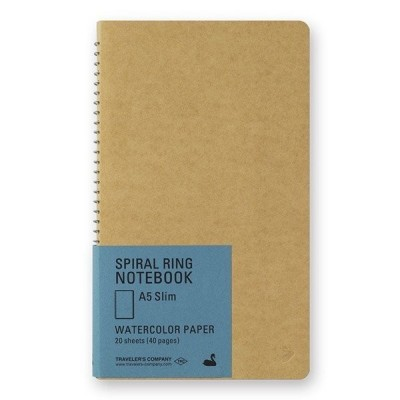 Spiral Ring Notebook A6 - teve