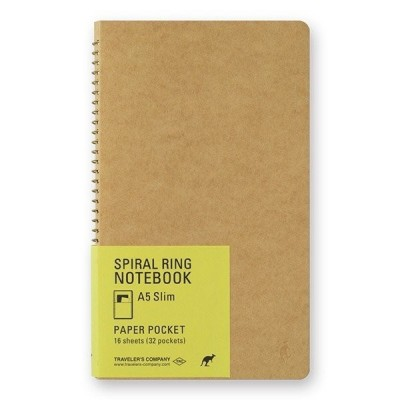 Spiral Ring Notebook A5 - kenguru