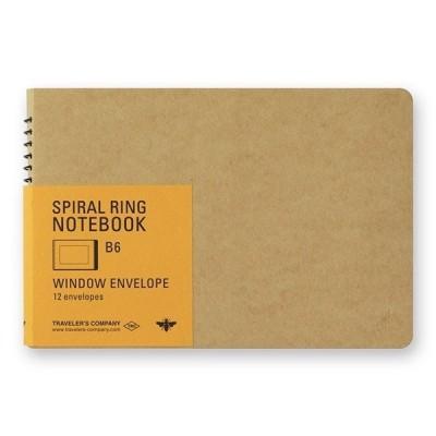 MIDORI Spiral Ring Notebook B6 - méhecske