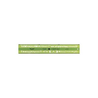 Faber-Castell műszaki betűsablon 3,5mm