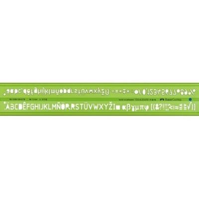 Faber-Castell műszaki betűsablonl 7,0mm