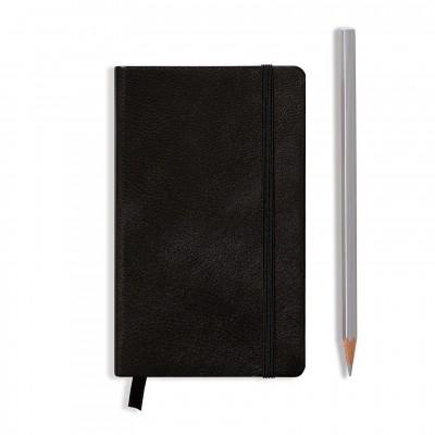 LEUCHTTURM1917 Leather Pocket A6 pontozott lapos NOTEBOOK