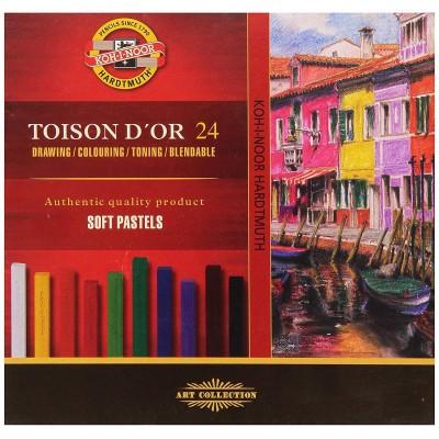 Koh-I-Noor Toison D'or Soft pasztell 12db-os készlet