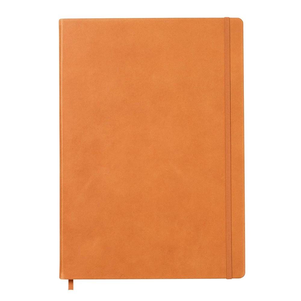 LEUCHTTURM1917 Leather A4 Master pontozott lapos NOTEBOOK