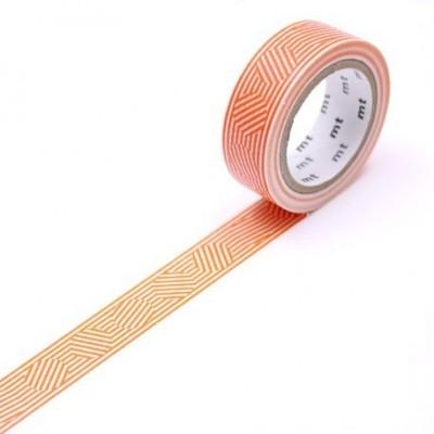 MT Washi Tape - Circle orange