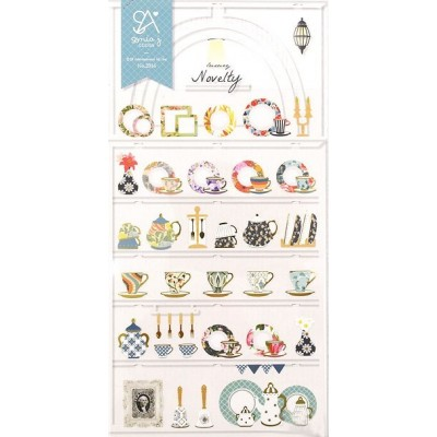 Suatelier Sonia's porcelán matricák