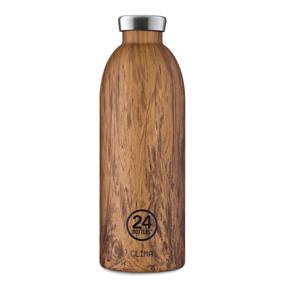 24Bottles Clima WOOD 850 ml, termosz