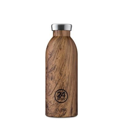 24Bottles Clima WOOD 500 ml, termosz Sequoia wood
