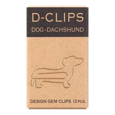 MIDORI Mini D-clips gémkapocs, chihuahua