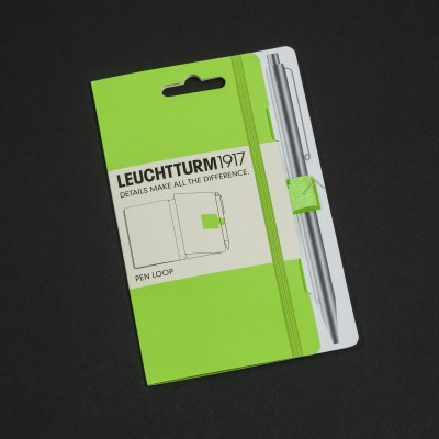 LEUCHTTURM1917 NEON edition - pen loop, neon yellow
