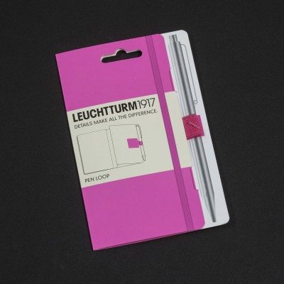 LEUCHTTURM1917 NEON edition - pen loop, neon orange