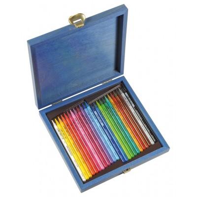 Koh-I-Noor Progresso 24db-os ceruzakészlet, fadobozos csomagolásban