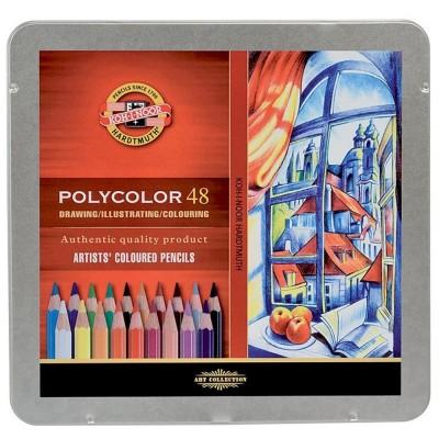 Koh-I-Noor Polycolor 24db-os pasztellceruza készlet
