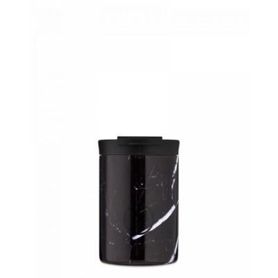 24Bottles Travel tumbler BASIC 350 ml, Tudexo black