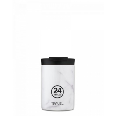 24Bottles Travel tumbler GRAND 350 ml, Black marble