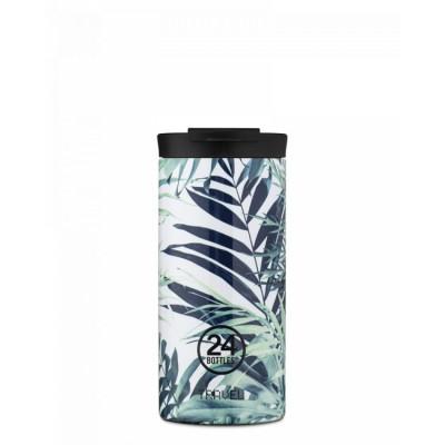 24Bottles Travel tumbler GRAND 600 ml, Black marble