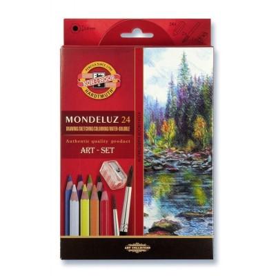 Koh-I-Noor Mondeluz 24db-os akvarell ceruzakészlet