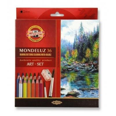 Koh-I-Noor Mondeluz 36db-os akvarell ceruzakészlet