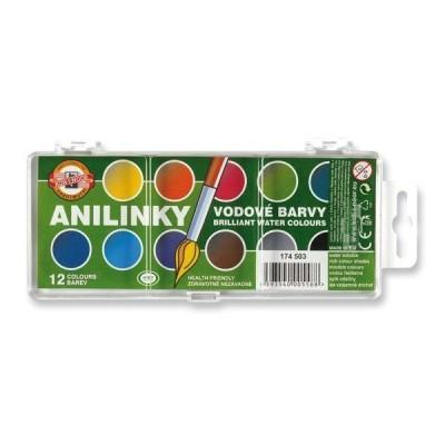 Koh-I-Noor Anilin 12 színes vízfesték