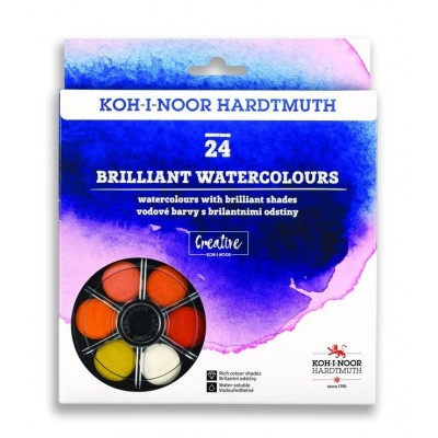 Koh-I-Noor anilin vízfesték 24szín