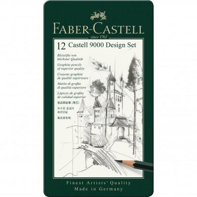 Faber-Castell Castell 9000 grafit design szett