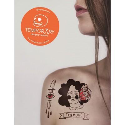 Temporary designer tattoo - Dorca'S Blackwork ideiglenes tetoválás