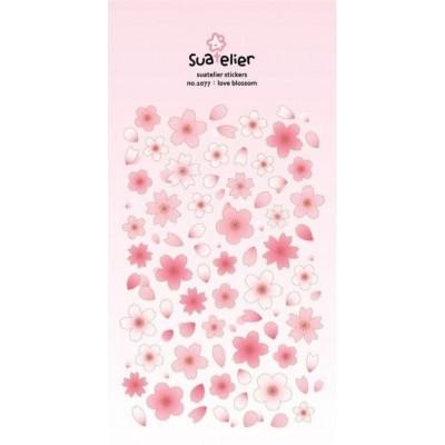 Suatelier apró virágmintás matricák