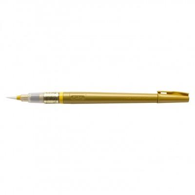 Kuretake Chuji Fude pen újratölthető japán ecsetfilc, arany színben