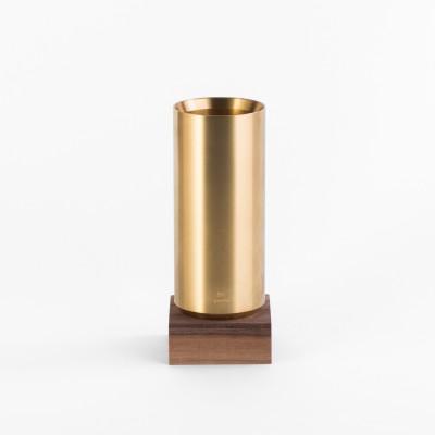 Ystudio Classic sárgaréz asztali tolltartó