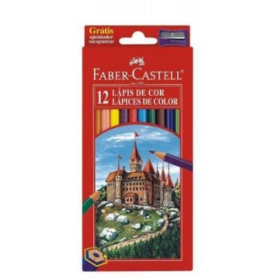 Faber-Castell Vármintás szinesceruza 12db
