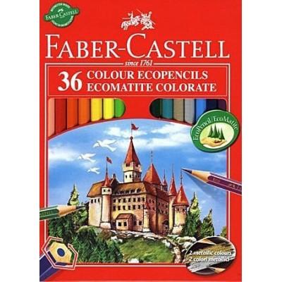 Faber-Castell Vármintás színesceruza 36db