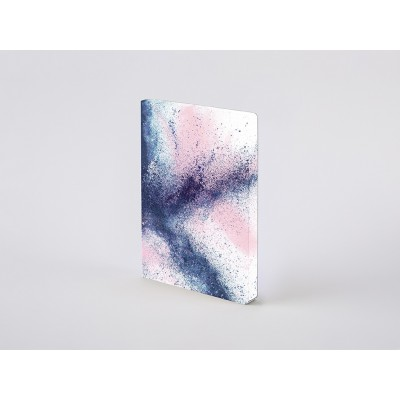 Nuuna Composition L pontozott lapos notebook - Splash