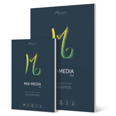 Phoenix Arts Mix média tömb 250g