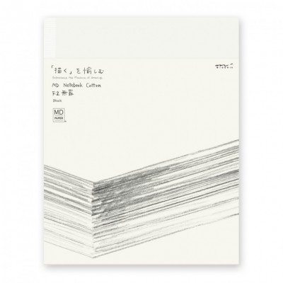 MD Paper Cotton notebook F2, sima lapos