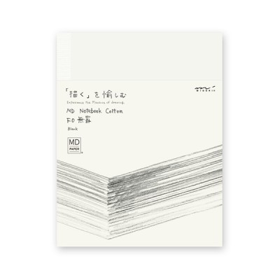 MD Paper Cotton notebook F0, sima lapos