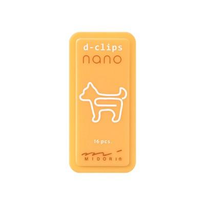 MIDORI D-Clips Nano gémkapocs, kutya