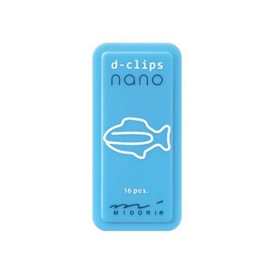 MIDORI D-Clips Nano gémkapocs, halacska