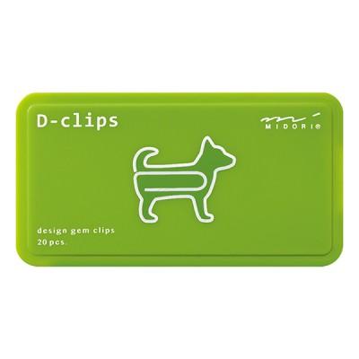 MIDORI D-Clips gémkapocs, kutya