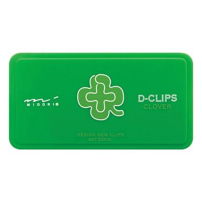 MIDORI D-clips gémkapocs, lóhere