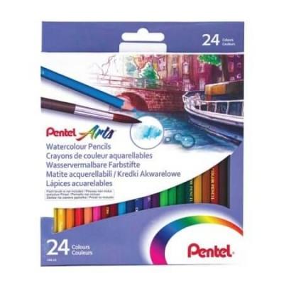 Pentel Arts 24db-os akvarellezhető színesceruza készlet