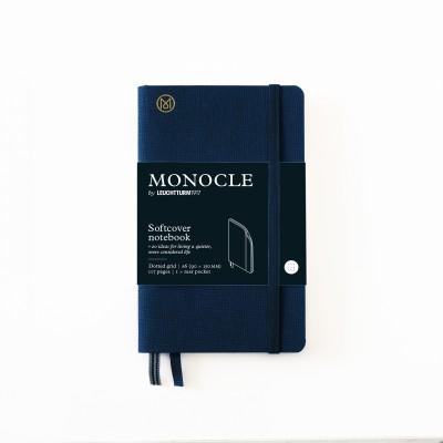LEUCHTTURM1917 x Monocle A6 pontozott lapos notebook, softcover