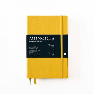 LEUCHTTURM1917 x Monocle B6+ pontozott lapos wallet notebook