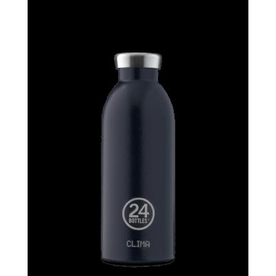24Bottles Clima Bottle 500ml, rustic deep blue