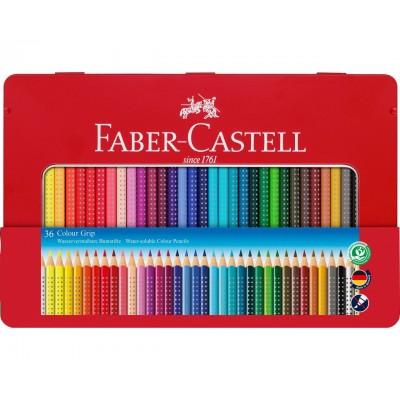 Faber-Castell Grip színesceruza 36db, fémdobozos