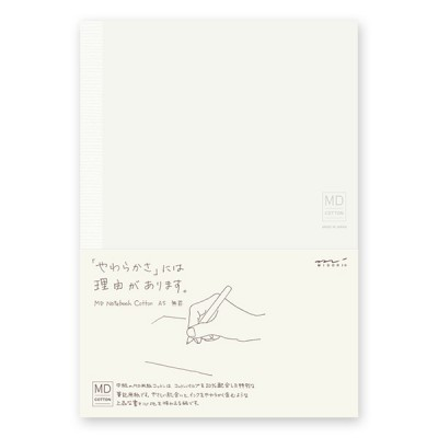 MD Paper notebook A5, sima lapokkal