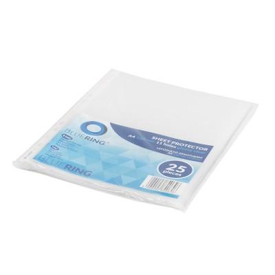 Bluering genotherm lefűzhető A4 120 mic víztiszta 25 db/csomag