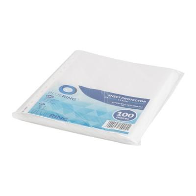 Bluering genotherm lefűzhető, A4 80 micron narancsos 100 db/csomag