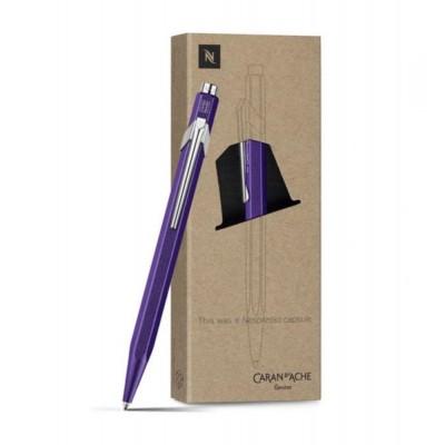 Caran d'Ache 849 golyóstoll x Nespresso, violet